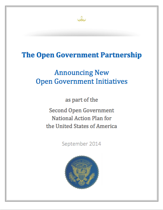 The Open Government Partnership: Announcing New Open Government Initiatives