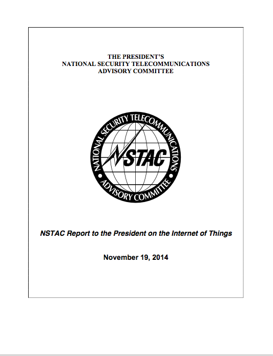 NSTAC Report to the President on the Internet of Things