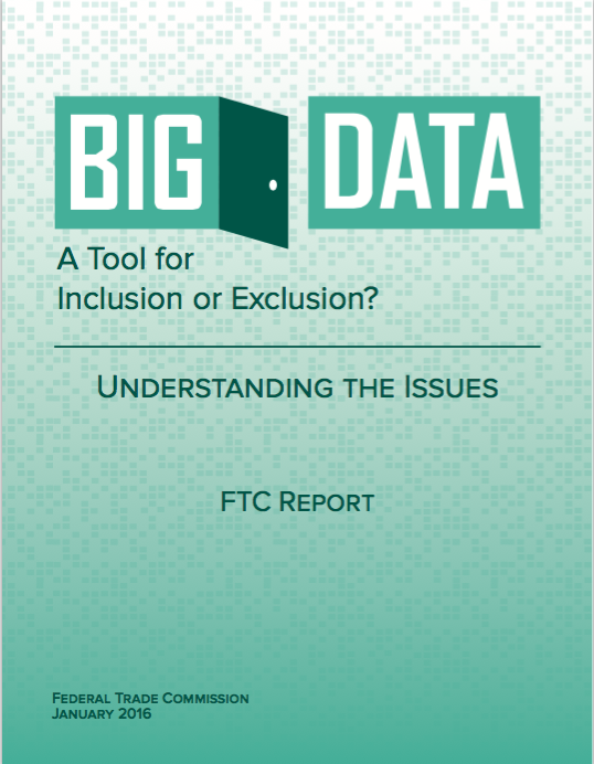 Big Data: A Tool for Inclusion or Exclusion?: Understanding the Issues
