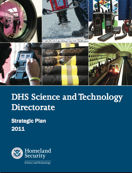DHS Science and Technology Directorate Strategic Plan 2011