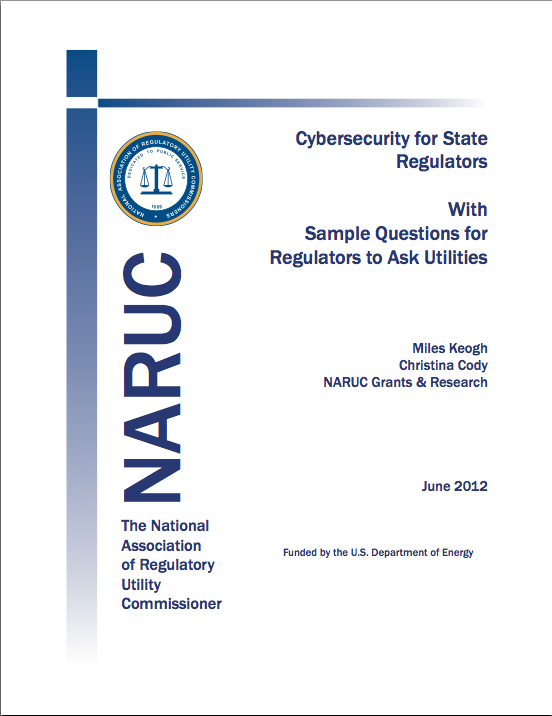 Cybersecurity for State Regulators