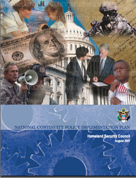 National Continuity Policy Implementation Plan