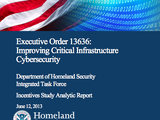 Executive Order 13636: Improving Critical Infrastructure Cybersecurity Incentives Study Analytic Report