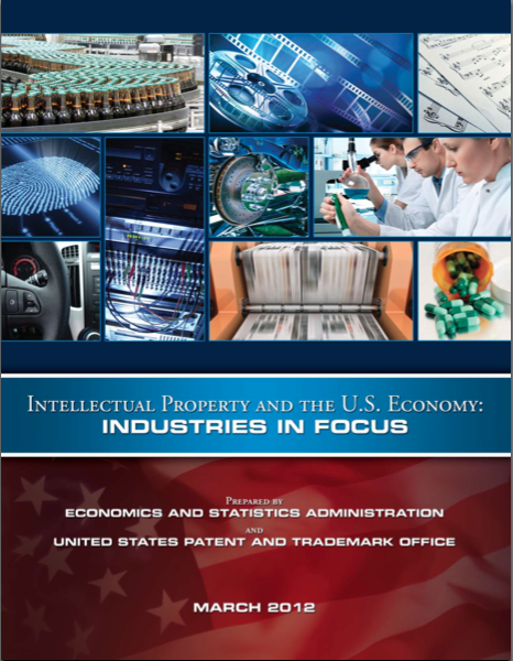 Intellectual Property and the U.S. Economy: Industries in Focus