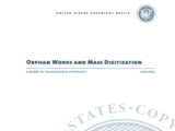 Orphan Works and Mass Digitization: A Report of the Register of Copyrights