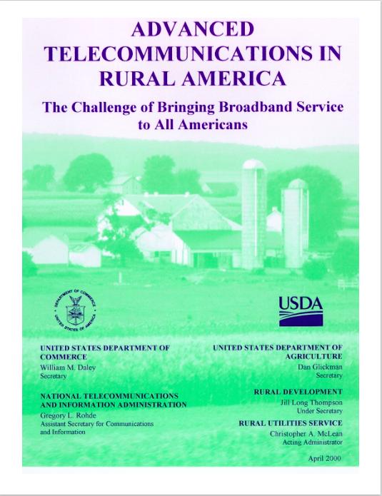 Advanced Telecommunications in Rural America