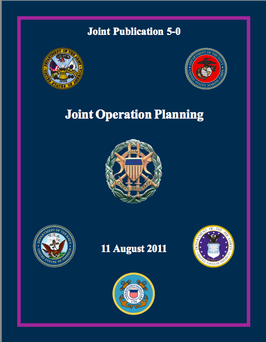Joint Publication 5-0, Joint Operation Planning