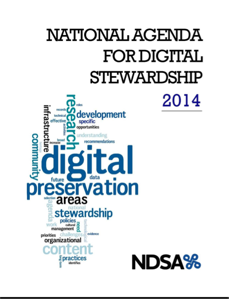 2014 National Agenda for Digital Stewardship