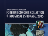 2005 Annual Report to Congress on Foreign Economic and Industrial Espionage