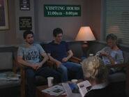 1x5 Mac Dennis Dee waiting room