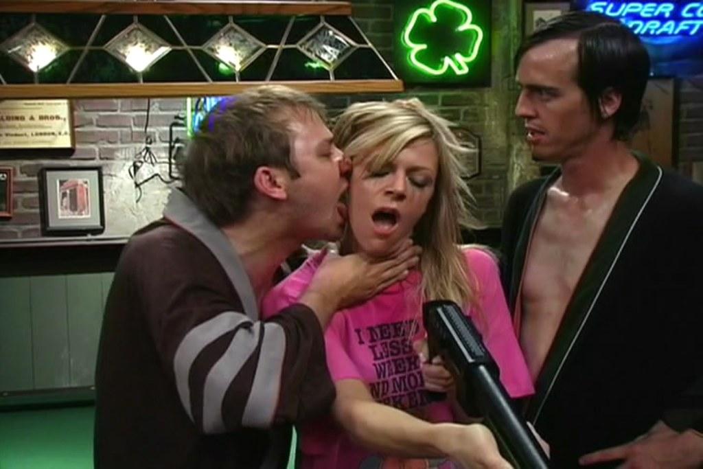 Memorable licking of Dee's face.jpg