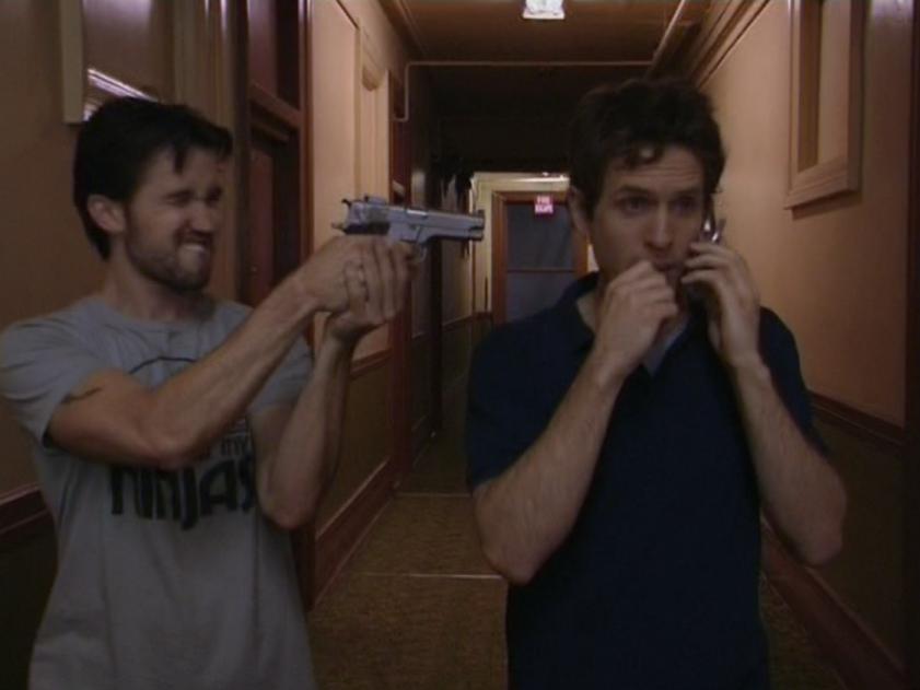 1x5 Mac aims at Dennis.png