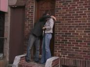 1x4 Charlie hugs Waitress