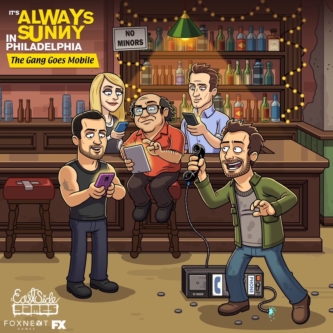 It's Always Sunny: Gang Goes Mobile