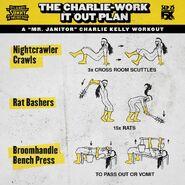 Season 14 charlie workout
