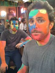 Mac and Charlie on the set.jpg