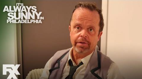It's Always Sunny in Philadelphia Season 11 Kevin Thompson Method Actor FXX