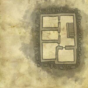Mappa del piano di sopra