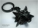 Witcher medallion keychain