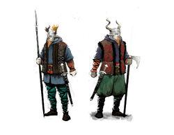 Tw3 skellige soldiers concept art.jpg