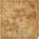 Map Sewers places of power