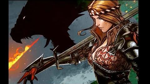 Witcher 3 Wild Hunt - Hearts of Stone (Saskia Comic & Renders)