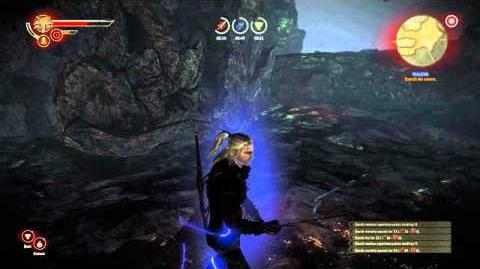 Witcher 2 Malena Quest Gameplay
