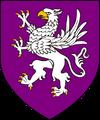 stemma di Caingorn - tinto di rosso