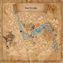 Map Kaer Morhen valley