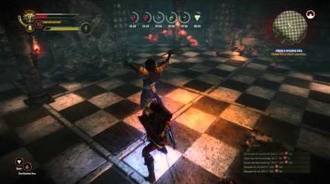 The Witcher 2 - Operator Bossfight (Hard)