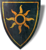 Stemma di Nilfgaard presente in The Witcher 2