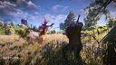 Tw3 e3 2014 screenshot - Geralt fighting a Noonwraith