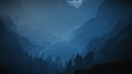 Blue the witcher wallpaper