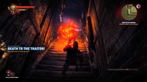 Witcher 2 - Death to the Traitor Gameplay pt. 2