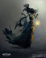 Witcher 3 Wild Hunt, The - artwork - Nightwraith