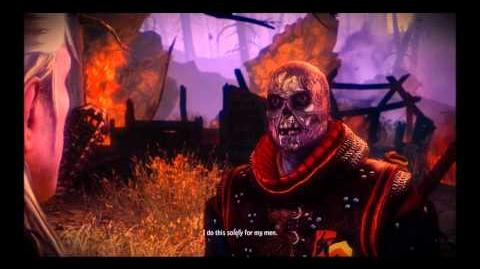 The Witcher 2 gameplay Draug Boss Fight
