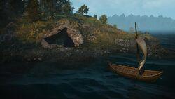 Tw3 elven ruins lake access