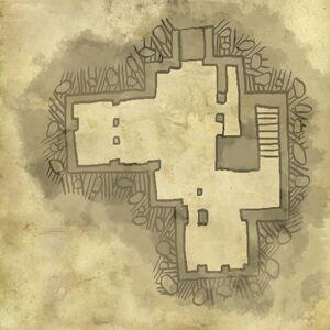 Mappa del piano inferiore