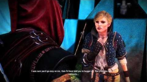 The Witcher 2 - Fighting Ves