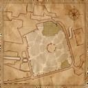 Map Vizima Cemetery