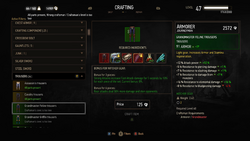 The Witcher 3 Wild Hunt Crafting NEW RGB