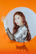 IT'z ME Chaeryeong promotional 2