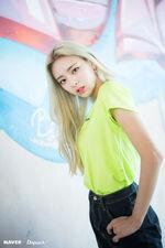 ITZY ItZ ICY Naver x Dispatch Yuna 9