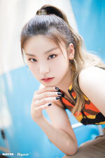 ITZY ItZ ICY Naver x Dispatch Yeji 9
