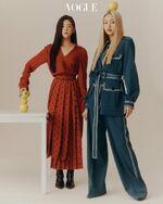 ITZY Vogue Korea Yuna and Lia Promo 1