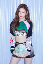 ITZY IT'z ICY Chaeryeong Promotional Picture (1)