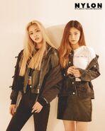 ITZY NYLON Yuna and Yeji Promo 1