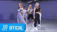 """ITZY """"Not Shy"""" Dance Practice (Moving Ver"""