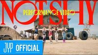 """ITZY """"Not Shy"""" Performance Video"""