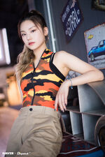ITZY ItZ ICY Naver x Dispatch Yeji 7